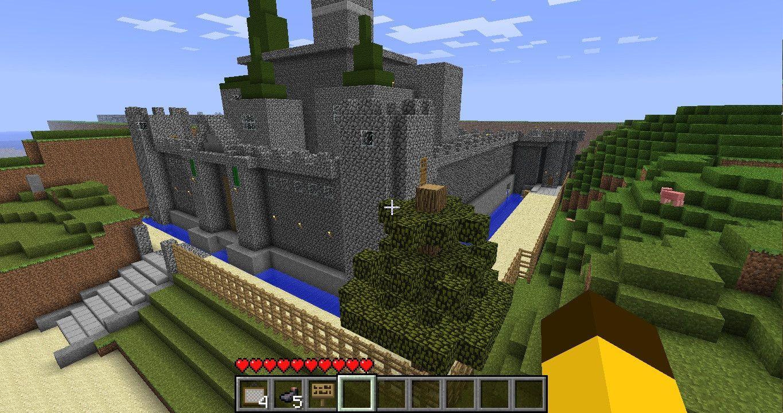 hyrule castle minecraft schematic - Google Search | Minecraft ... on