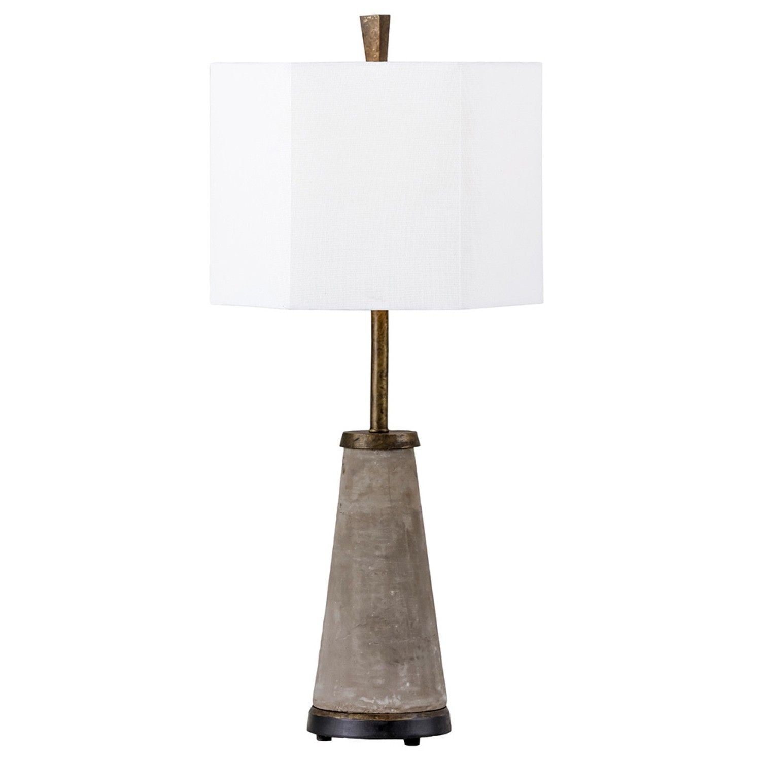 Warm And Cool Our Antique Slate Grey Faux Concrete And Brass