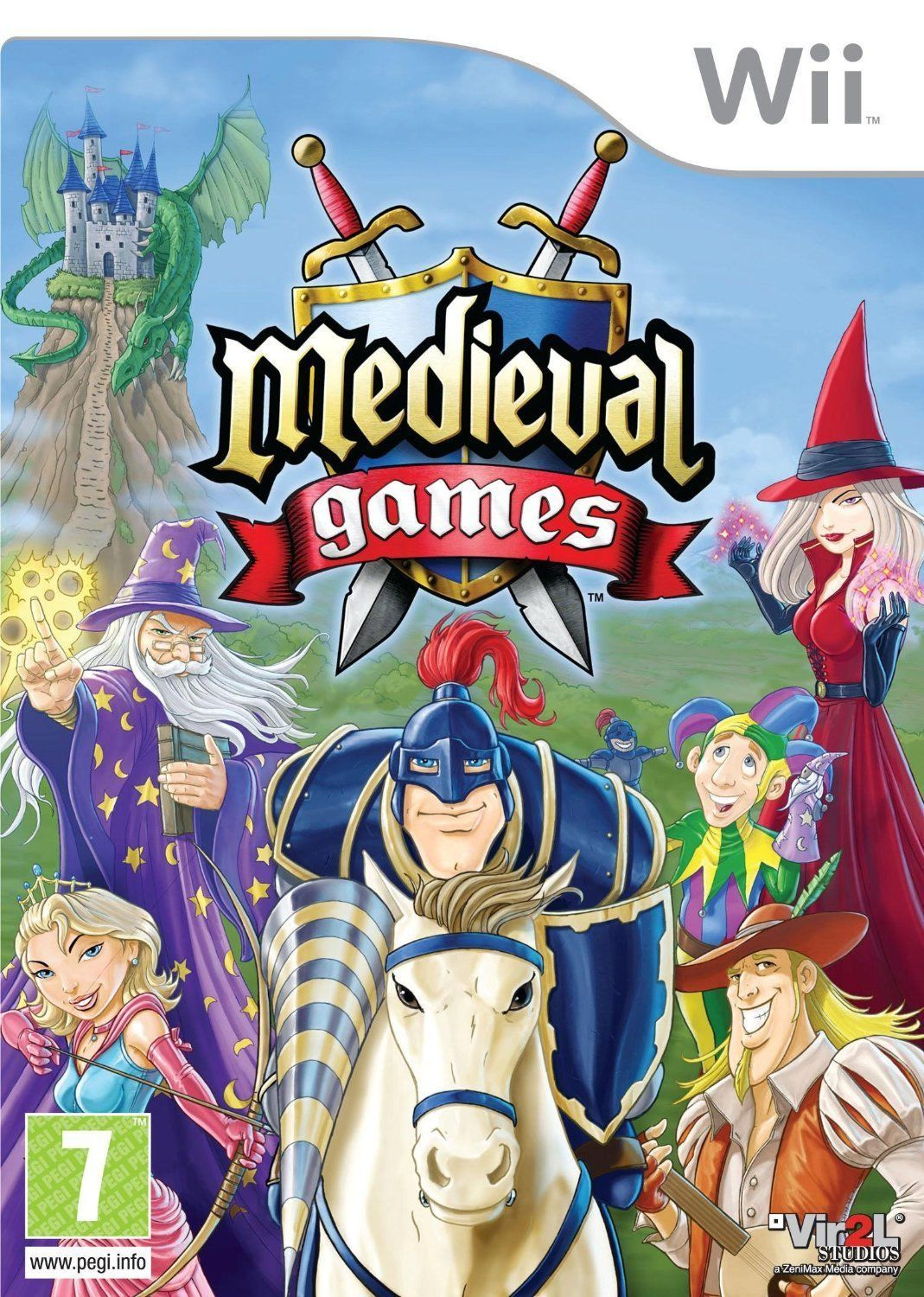 13.8 AUD Medieval Games (Wii) Nintendo Wii Pal Brand