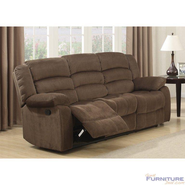 AC Pacific Furniture   Bill Reclining Living Room Sofa   AC 1661