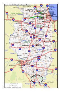 map of southern illinois Rural Tourism Development A Case Study