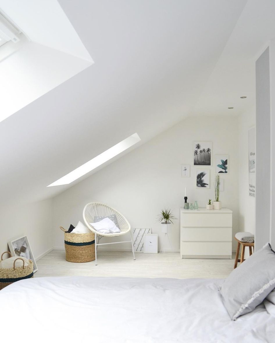 Schlafzimmer Weiß IKEA Malm Schlafzimmerideen