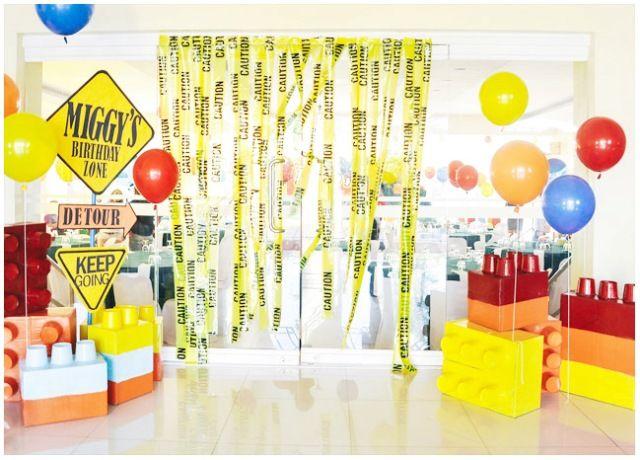 Miggy S Lego Construction Themed Birthday Party 7th Birthday Construction Theme Party Lego Themed Party Construction Themed Birthday Party