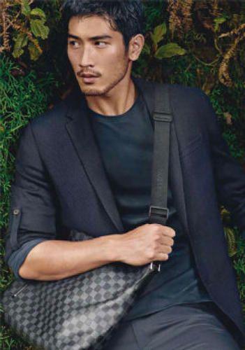 Godfrey Gao - New Louis Vuitton Model.. First Asian Male Model! Rock it!