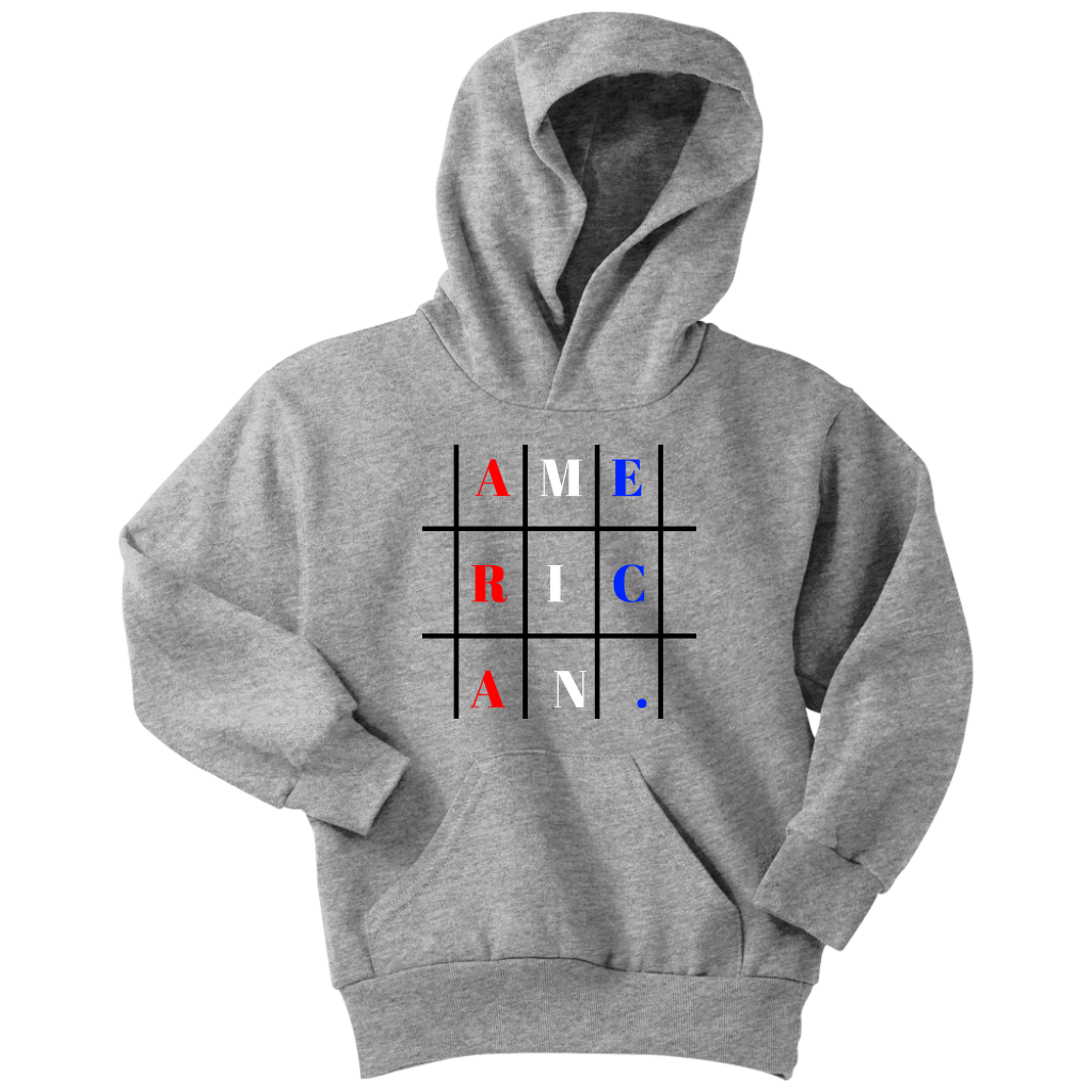 American V3 Youth Hoodies Triblend Shirts Sweater Hoodie [ 1024 x 1024 Pixel ]