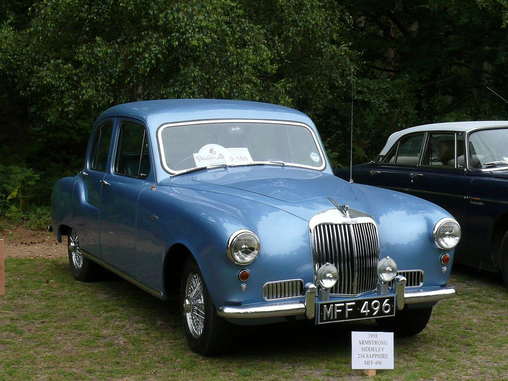 Vintage Car - Armstrong Siddeley 234 Sapphire [MFF 496] 110612 ...