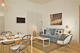 Piccolo Soggiorno ~ Un piccolo appartamento dallo stile incofondibile. https: www