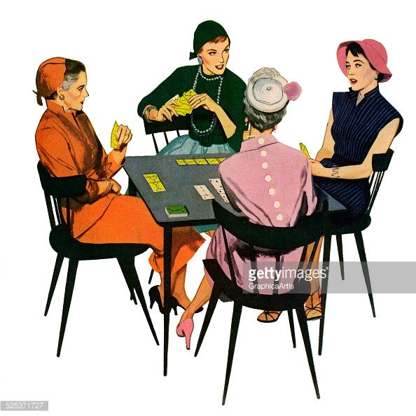 Vintage Images Of People Playing Cards Google Search Vintage
