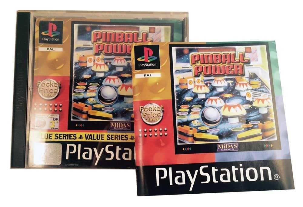 PS1 - Pinball Power    Playstation I www.detoyboys.nl