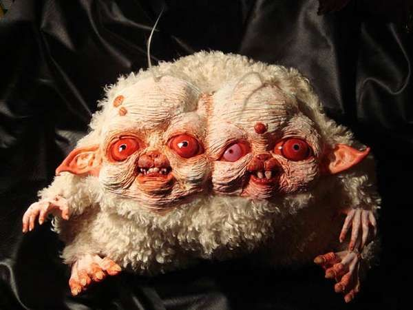 Villianous Plush Dolls - The Creepy Creatures of Santani Will Give You Nightmares (GALLERY)