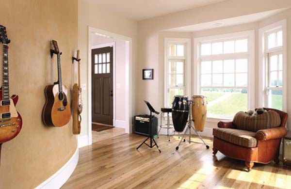 We Have Always Planned On Having A Music Room It Will Be The
