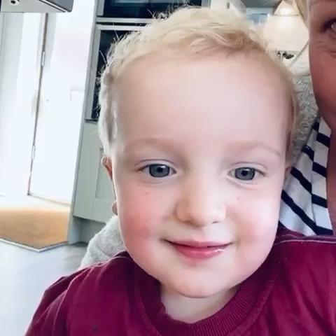 😃 2 Year Old Tells His First Joke 🐸 #kidsofinstagram #thingskidssay #kidssaythedarnestthings #parenting #familytime #dadjokes
