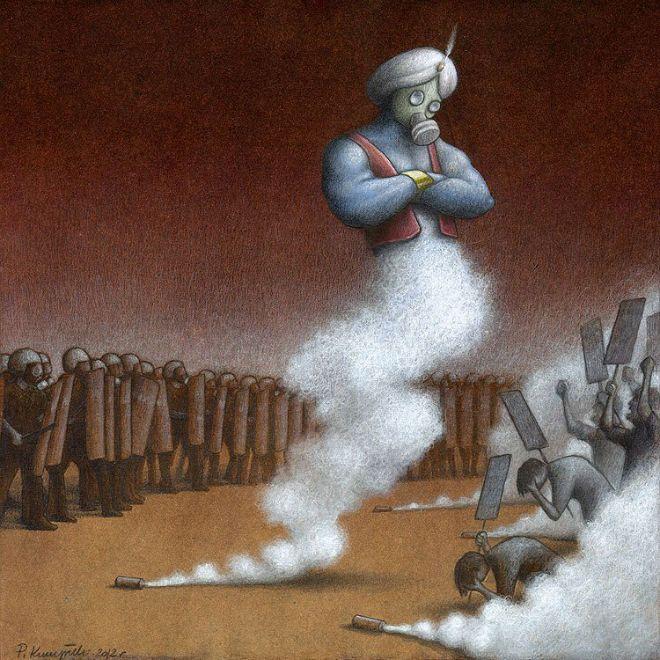 Pawel Kuczynski: Sátira ilustrada