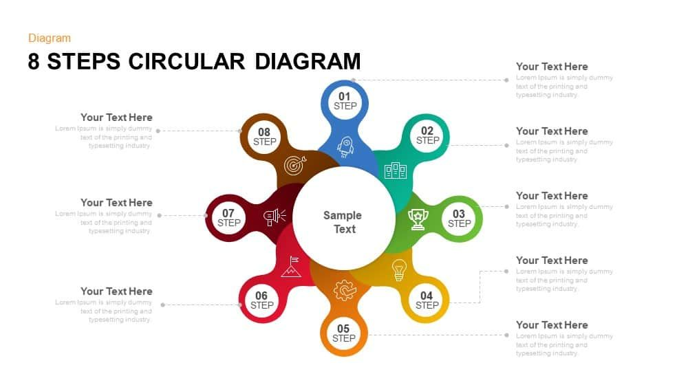 8 Steps Circular Diagram Powerpoint Template And Keynote Slide 8 Step Circular Diagram Powerpoint Template An Powerpoint Templates Powerpoint Powerpoint Design