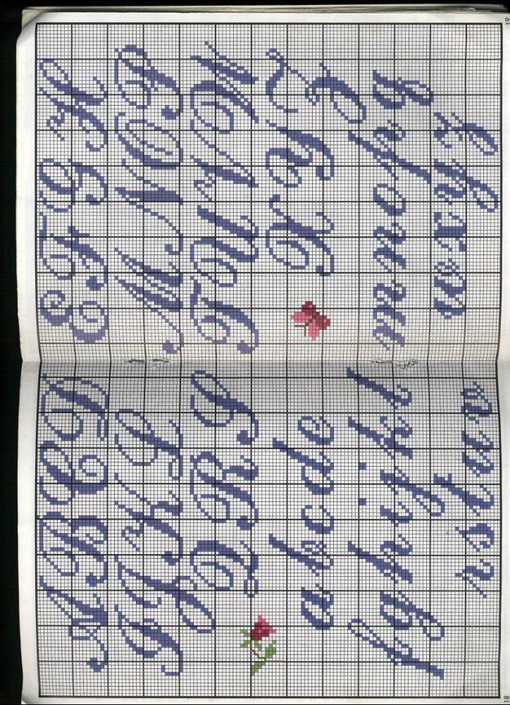 Pin von Goranka auf ABC - cross-stitch | Pinterest