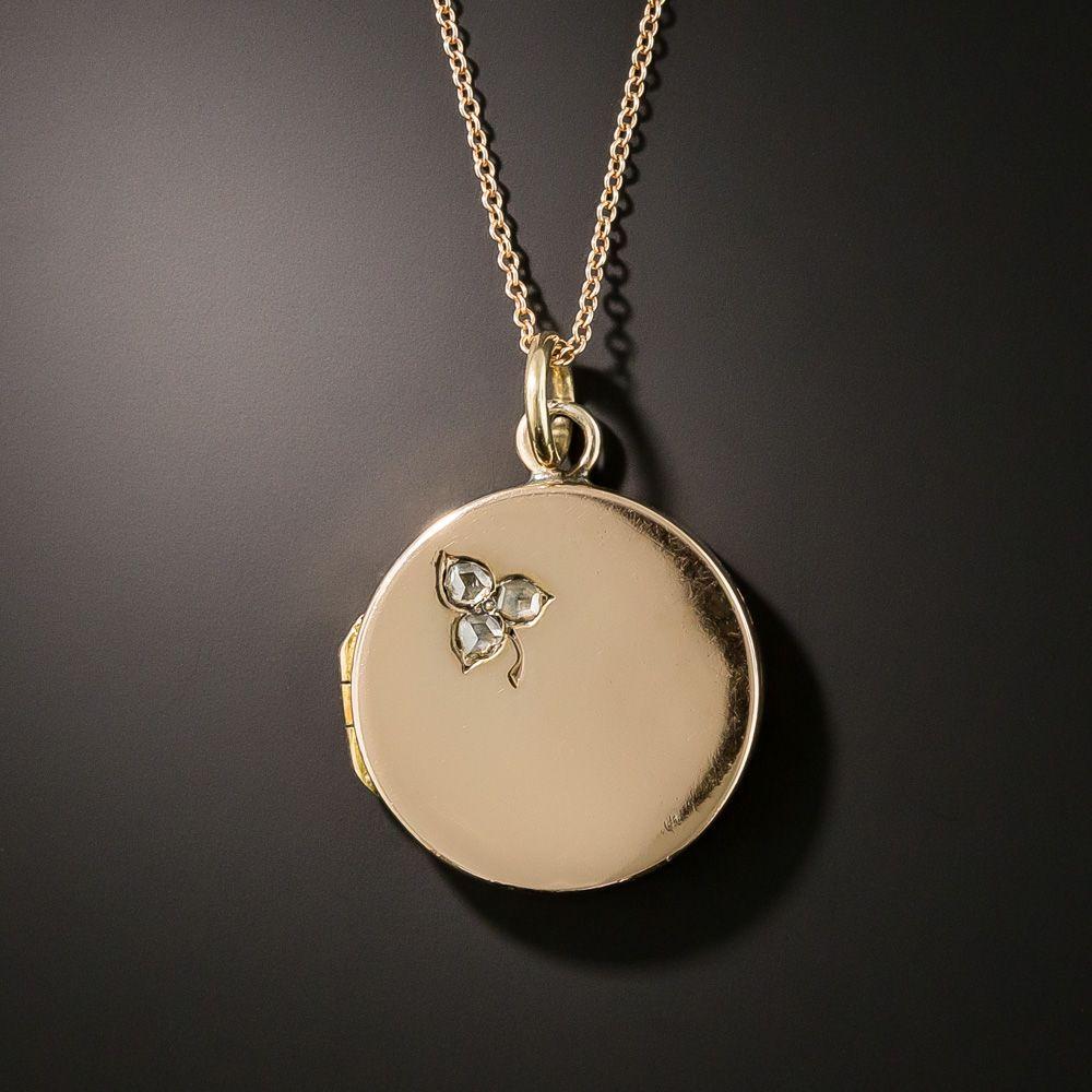 """Clover 18/"""" Necklace In 14K Rose Gold"""