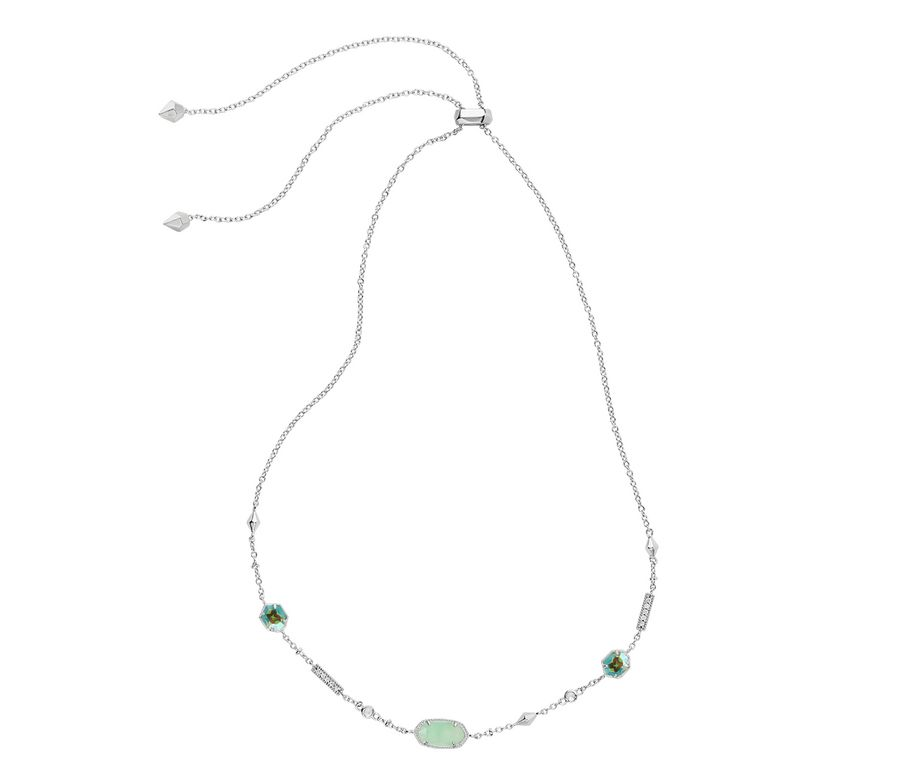 437b8672a66cb Maddie necklace from Kendra Scott with Dichroic Glass in stone 1 and ...