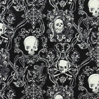 Macabre Wallpaper Pattern