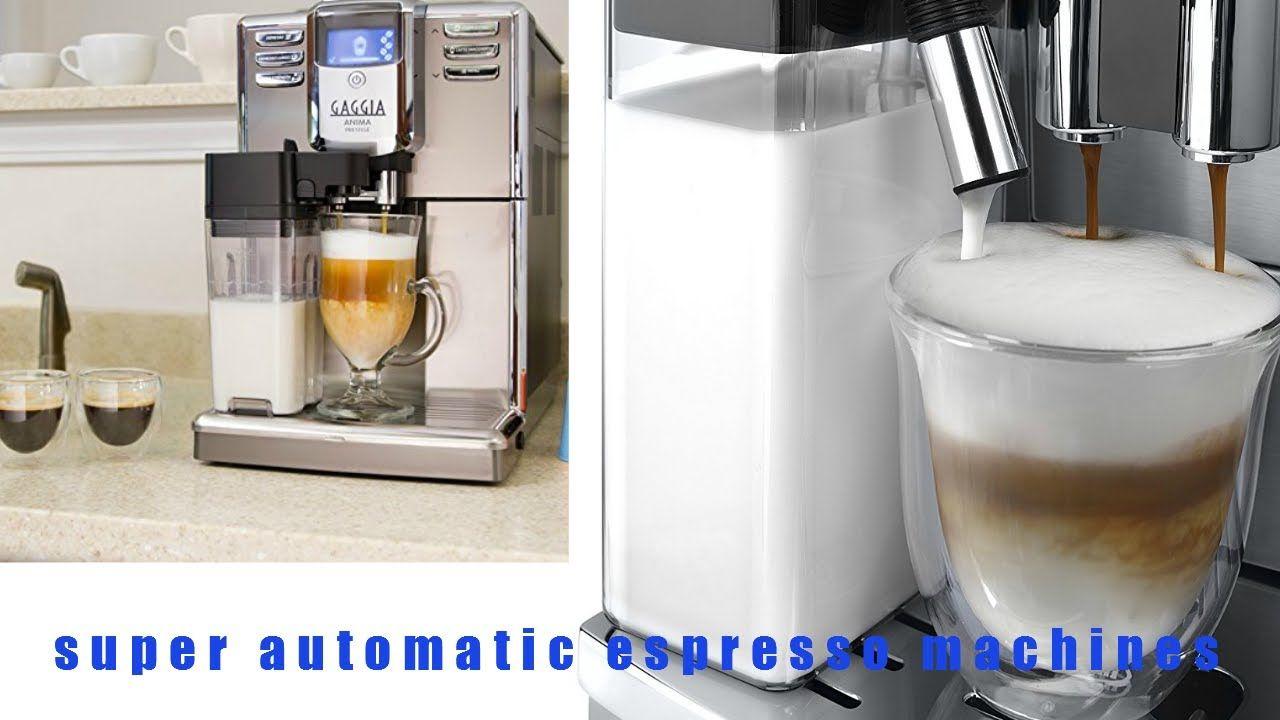 ❥the ten best Super Automatic Espresso Machines review