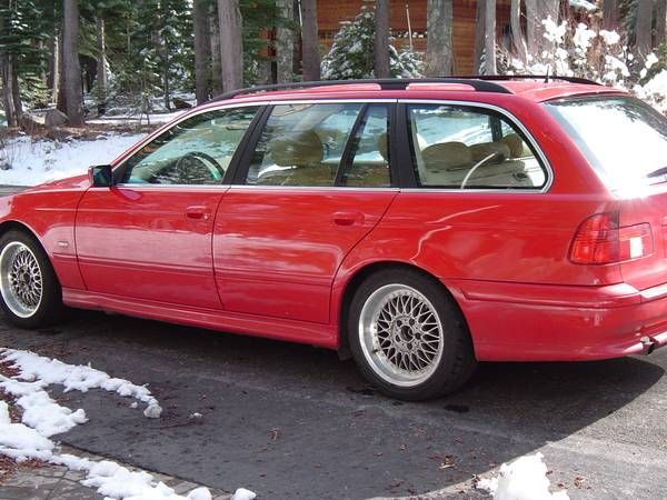 Rare 5-Speed Touring: 2001 BMW 525i | Vroom | Bmw e39 touring, Bmw
