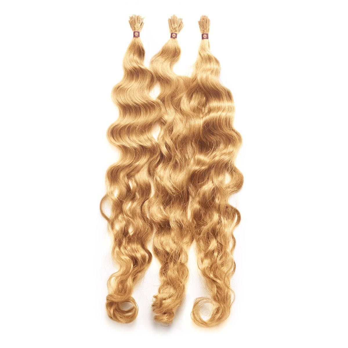 These I Tip Fusion Hair Extensions Are Made With Italian Keratin