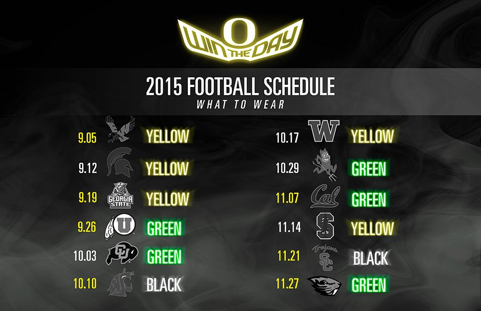 What to Wear to Oregon Football Games - GoDucks.com - The University of Oregon Official Athletics Web Site