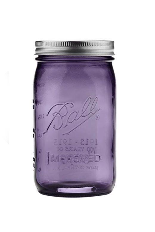 We love our new purple mason jar! // Die neue Vintage Editon in Lila ist ab sofort bei uns im Shop erhältlich!