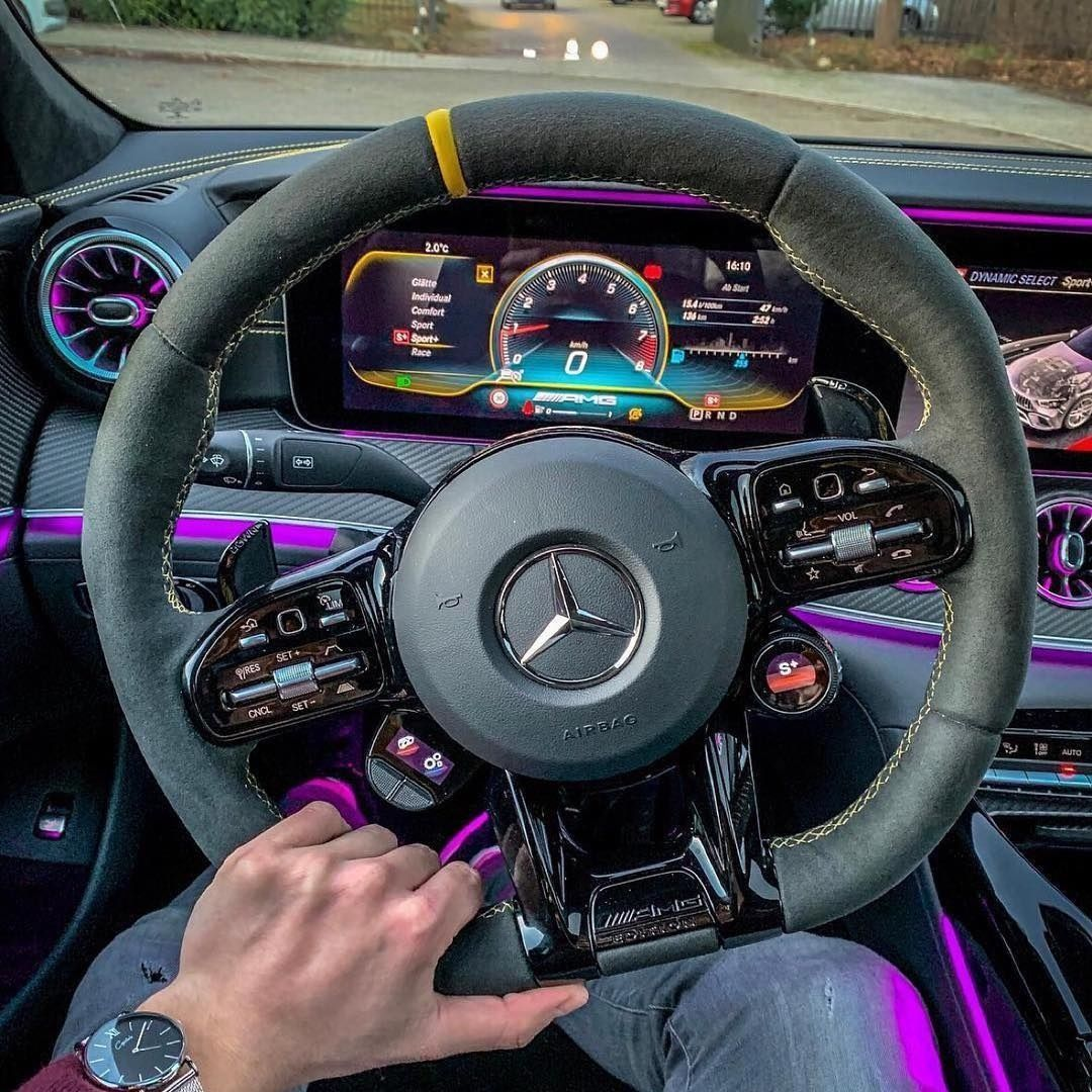 Stunning Mercedes GT63S AMG Interior!😍👌🏽 Rate It 1-100