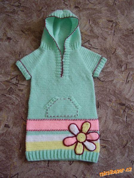 háčkované šaty ala NEXT Babyhäkelei 03986d18ef