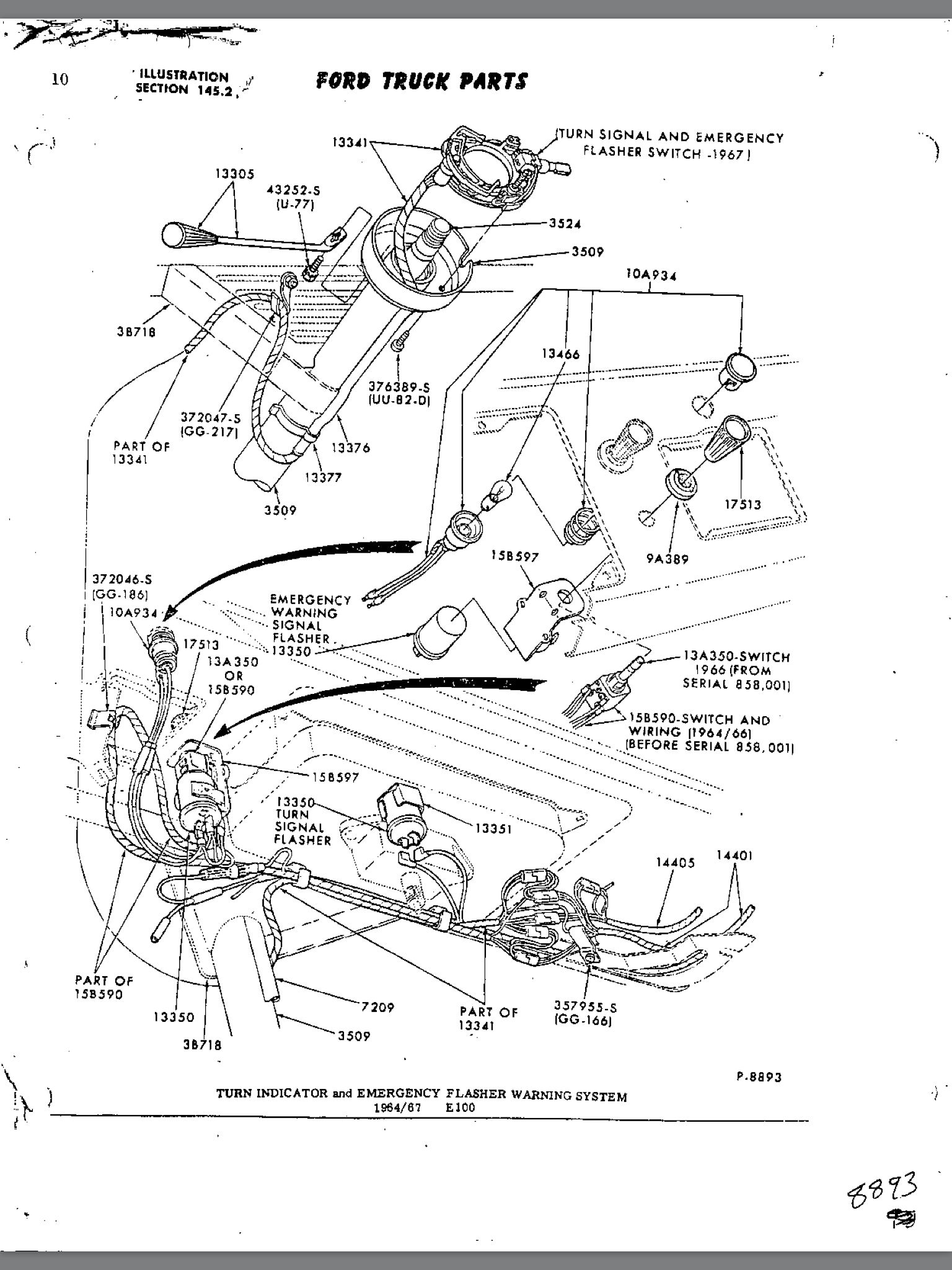 Exploded View Of Steering Wheel