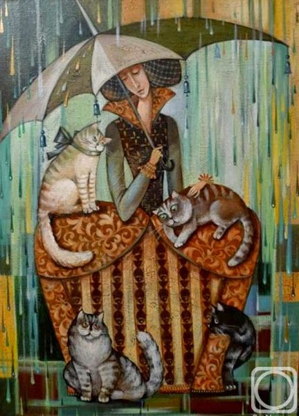 umbrellas.quenalbertini: Kira Panina Art