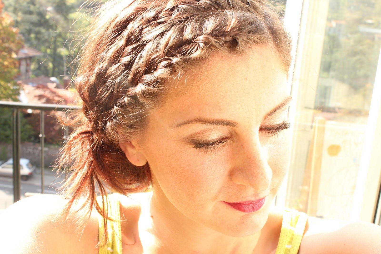 Rachel mcadams double braided headband pinterest hair style