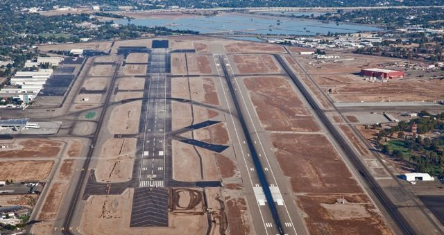 The Fresno Yosemite International Airport extended its primary