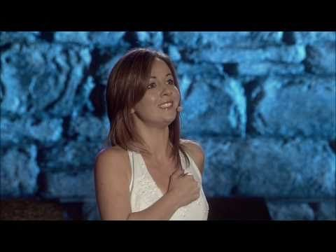 'The Blessing' - Celtic Woman (Sung by Lisa Kelly) When the storms of life are strong, When you're wounded,  When you don't belong, When you no longer hear my song- MY BLESSING GOES WITH YOU.
