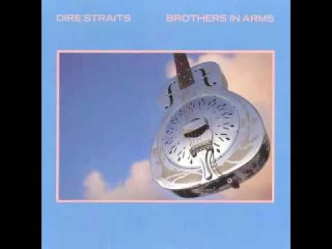 Dire Straits So Far Away Lyrics Brothers In Arms Dire Straits Classic Album Covers