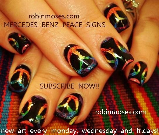 Mercedes Benz Peace Signs Everything Nails Pinterest Peace