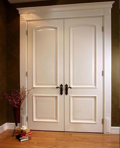 Indoor wooden door (double door) | Etna Trading of imported building materials