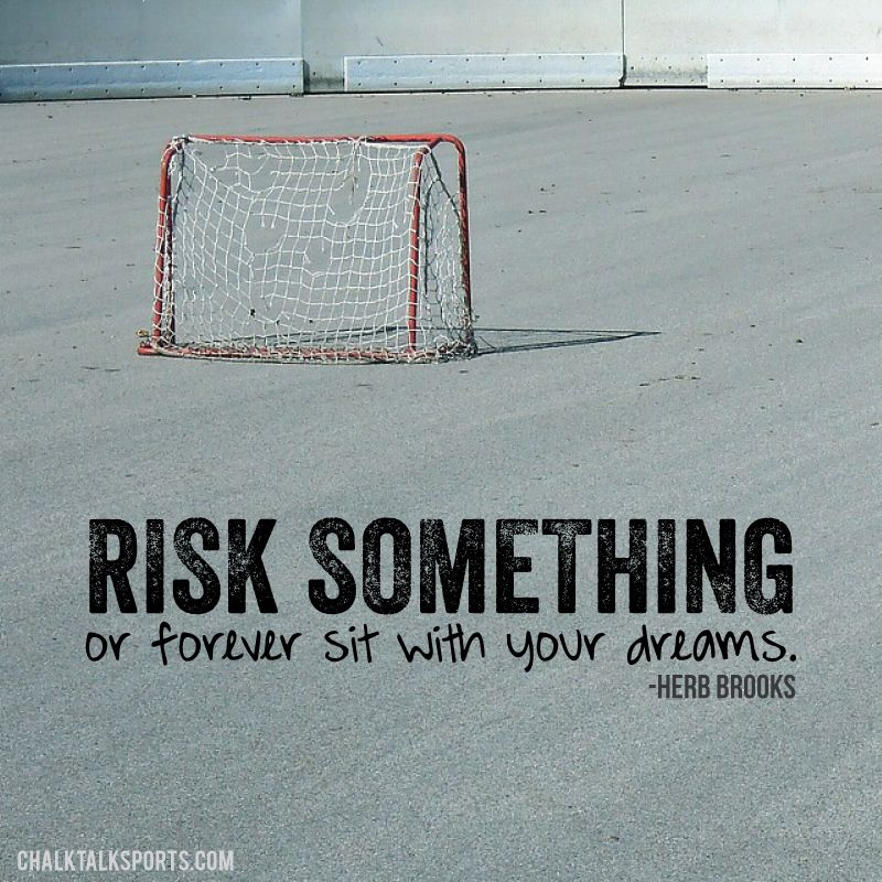 It Takes Dedication And Hard Work To Constantly Improve: Risk Something Or Forever Sit With Your Dreams