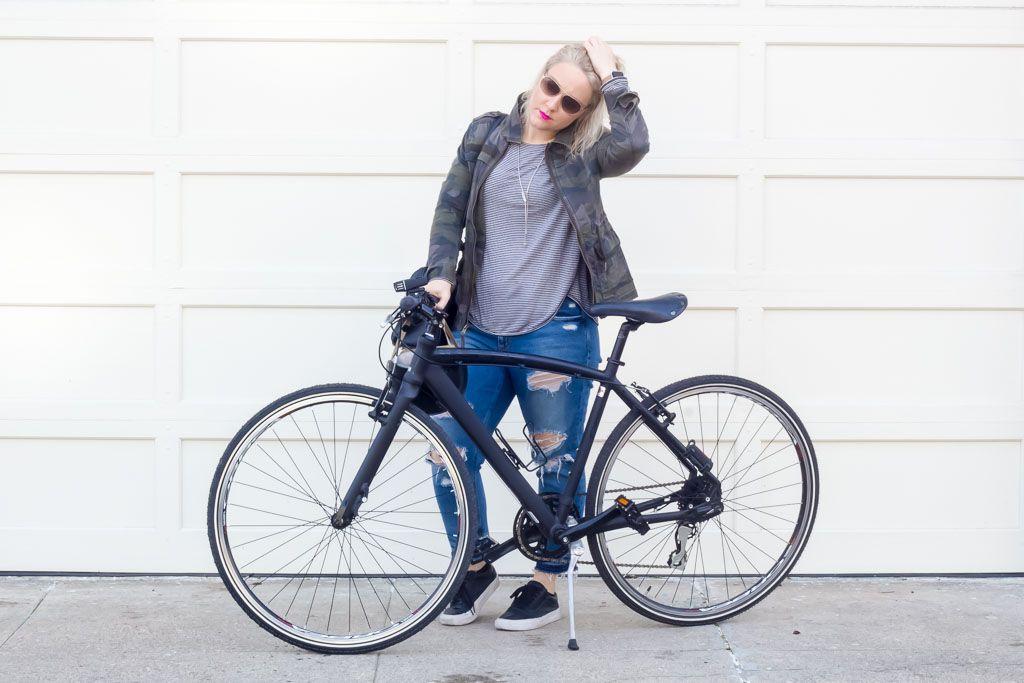 Bike To Work Wear Bike Commute Outfit How To Wear