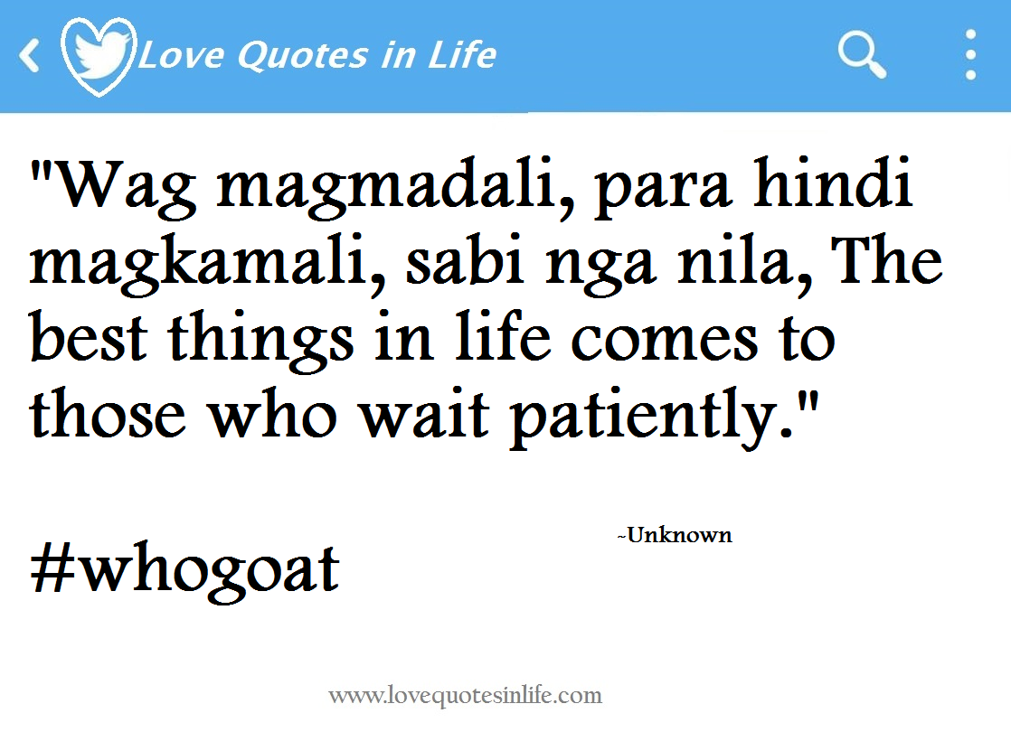 And Tagalog Hugot Quotes Relationships Love About