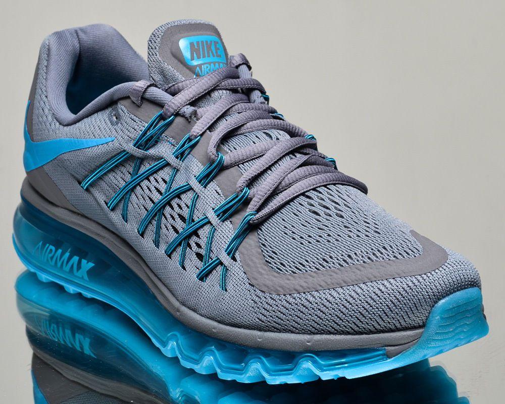 Nike Air Max 2015 Men Running Run Sneakers New Cool Grey