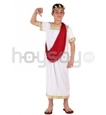 #Disfraz de emperador de la #Roma clásica para carnaval, fiestas escolares, fiestas temáticas, etc #Disfraces #Carnaval
