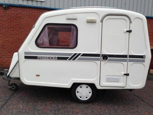 Freedom Microlite Sport Caravan 3 Berth 1995 Amp Awning Pop
