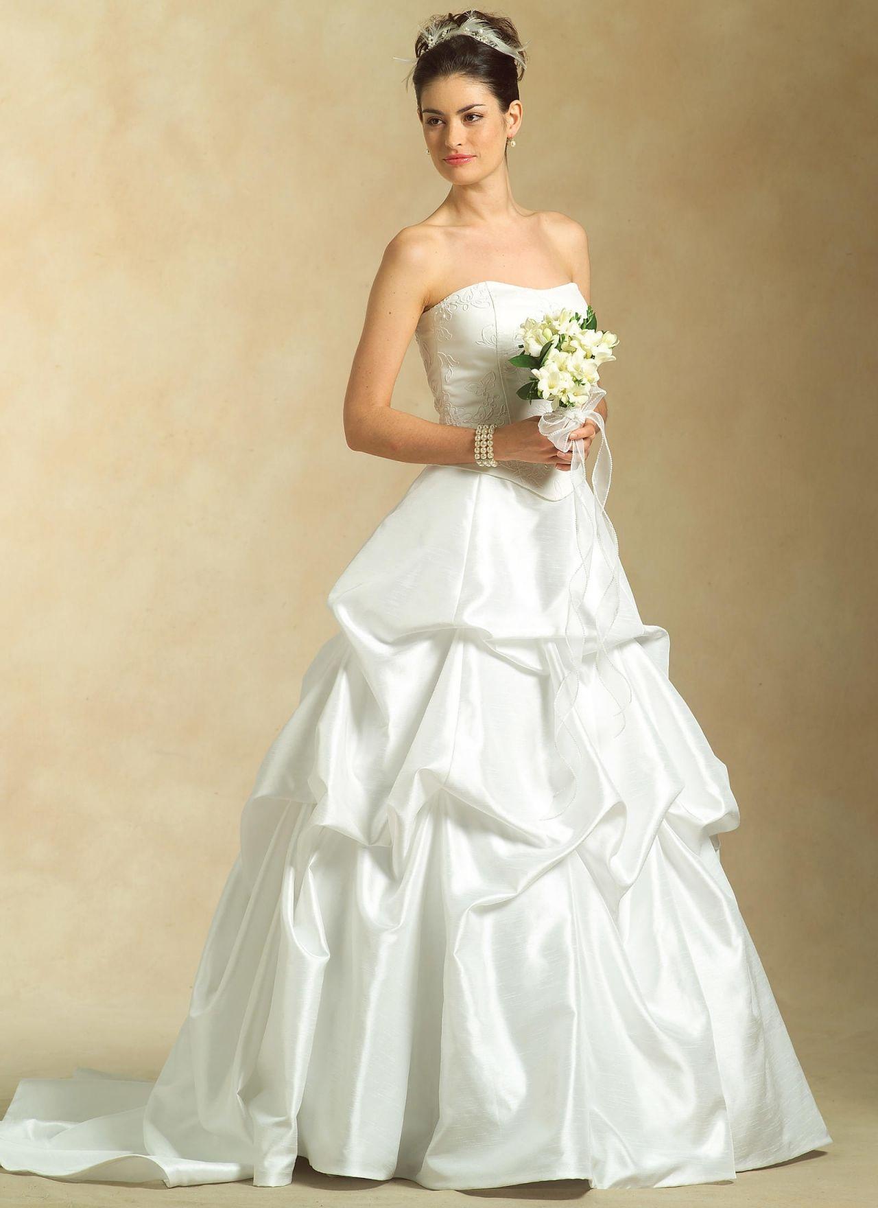 100+ Wedding Dresses Patterns by Simplicity - Informal Wedding ...