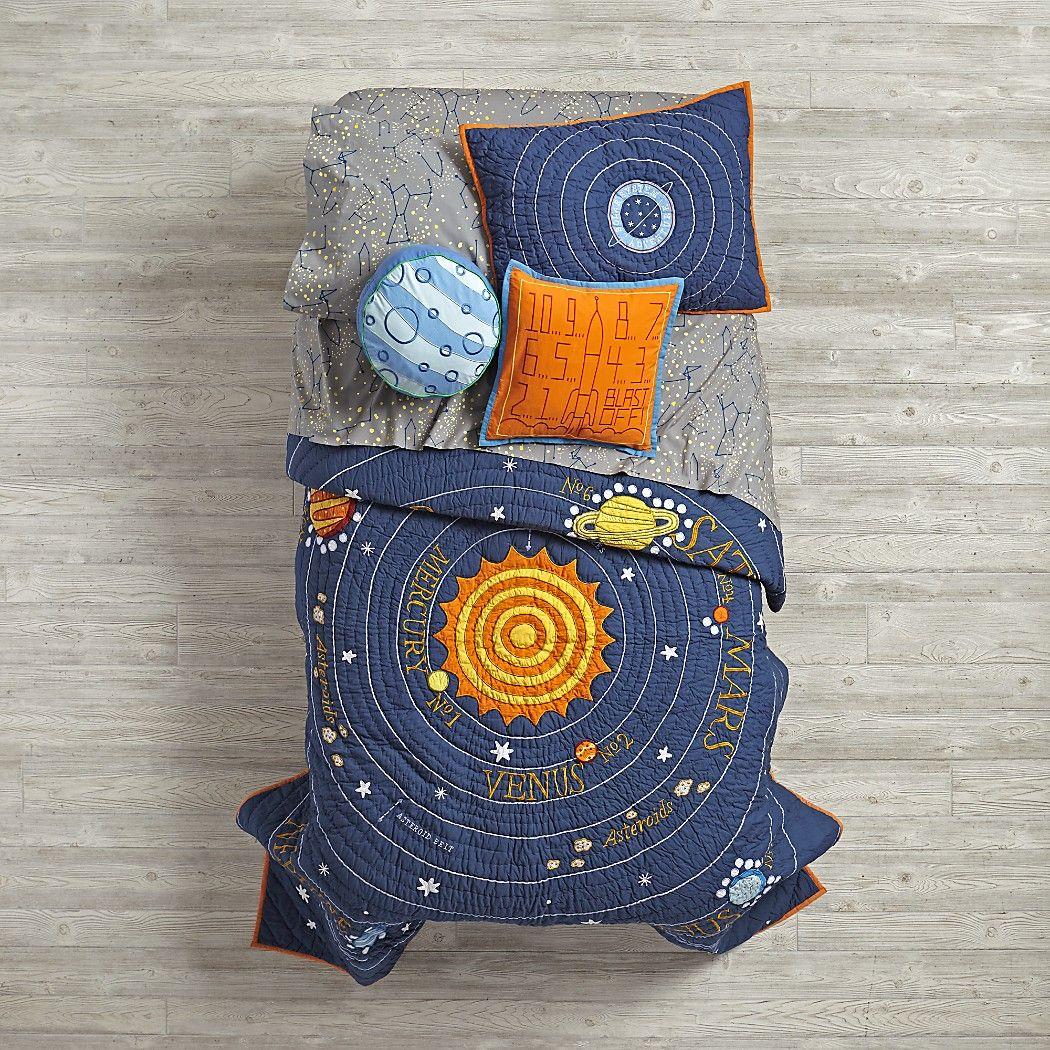 Solar System Bedding Little Boys Slugs N Snails And Puppy Dog