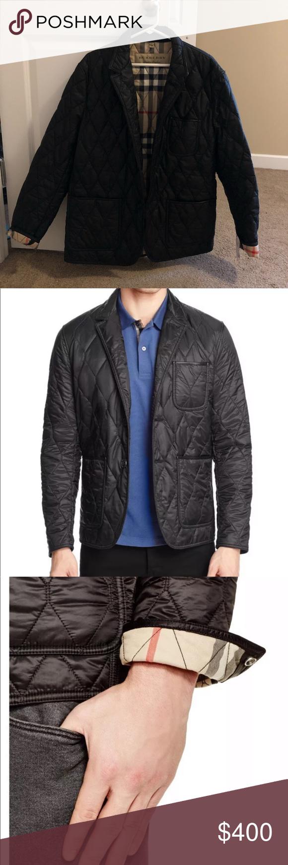 New Burberry Gillington Quilted Jacket Xxl Men S Brand New Burberry Gillington Quilted Jacket 100 Authentic Size Xxl Retails For My Posh Closet Quilt