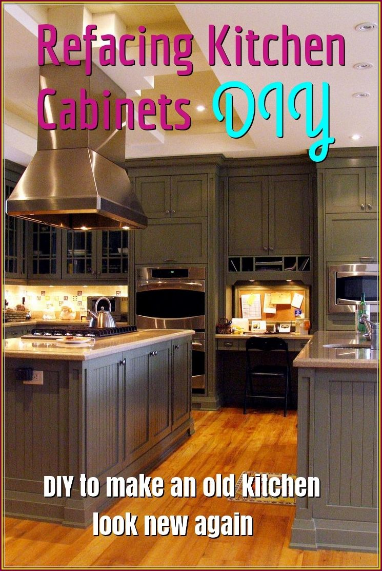 Your Home Value Can Be Greatly Improved By Doing Some Simple Do It Yourself Jobs Refacing Kitchen Cabinets Diy Diy Kitchen Cabinets Refacing Kitchen Cabinets