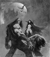 Creatures of the Night by AlexHorley