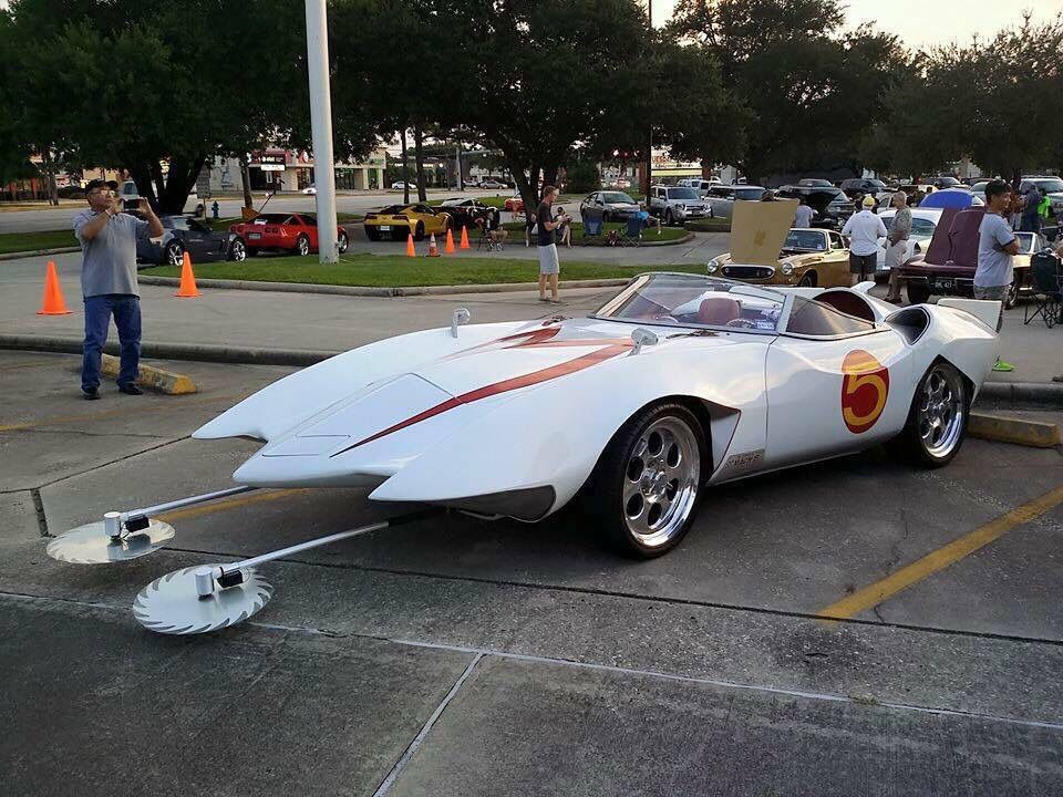 Car made to look like Speed Racer's
