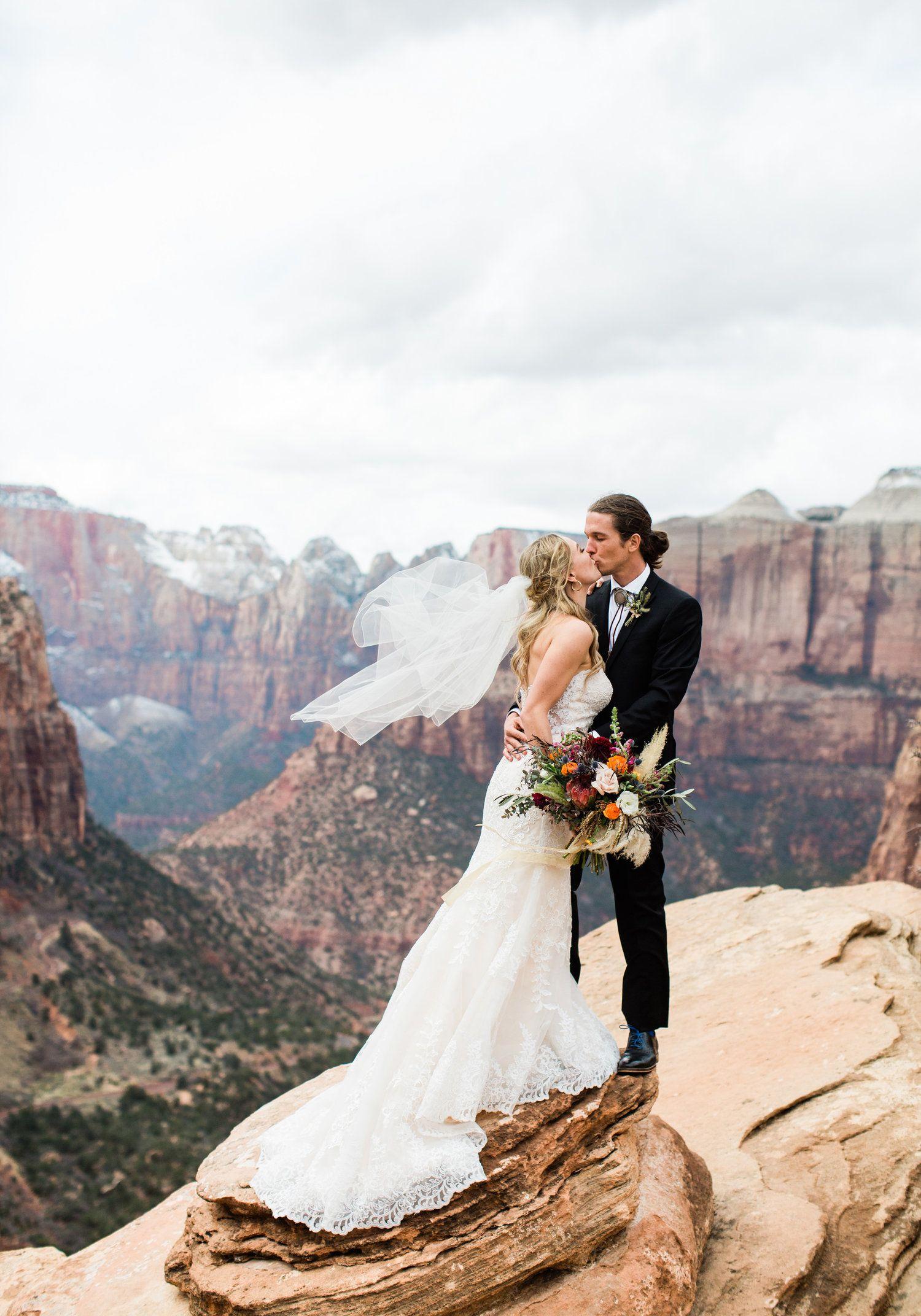 Zion National Park Wedding Photographer M Felt Photography National Park Wedding Park Weddings Zion National Park Photography